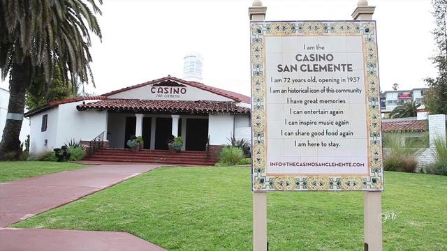 Casino San Clemente   949-632-5605 by Nathan Prince. Prince Weddings Presents Wedding Venue Casino San Clemente in Southern California. For more information regarding this wedding venue email INFO@THECASINOSANCLEMENTE.COM