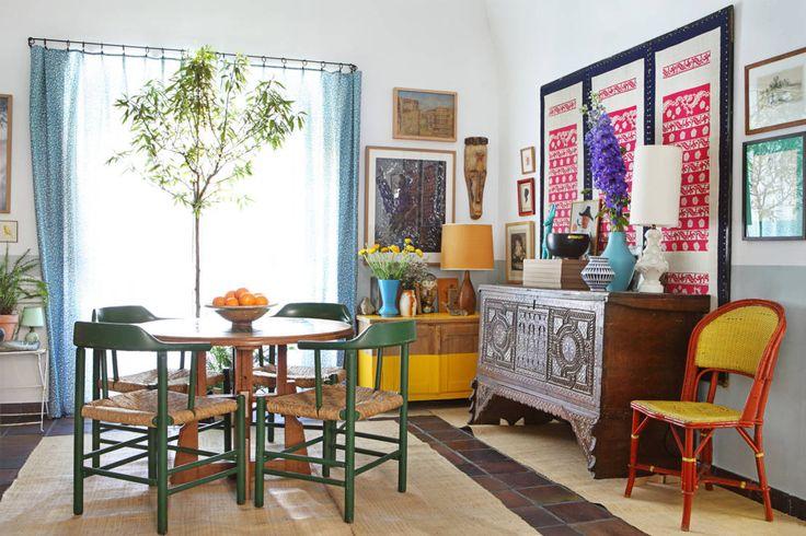 Salas de jantar mediterrâneas por Casa Josephine
