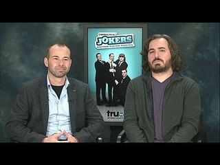 "Impractical Jokers - Season 3: Exclusive: James Murray and Brian Quinn -- We go one-on-one with jokers James Murray and Brian Quinn to talk about the 3rd season of ""Impractical Jokers"". -- http://wtch.it/kDfdK"