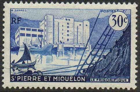 St& Cold storage (Saint Pierre and Miquelon) (Cold storage) MiPM 348 & 123 best St. Pierre u0026 Miquelon Stamps images on Pinterest   Stamps ...