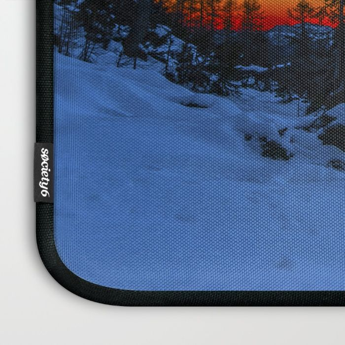 Warm Streak 1 Laptop Sleeve by Mixed Imagery | Society6
