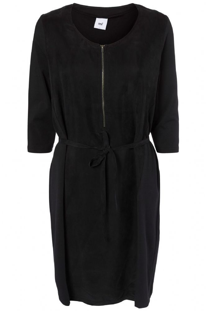 This beautiful cowl neck nursing dress is made from soft stretchy draping jersey at the front but the true detailing is on the back It has a pretty