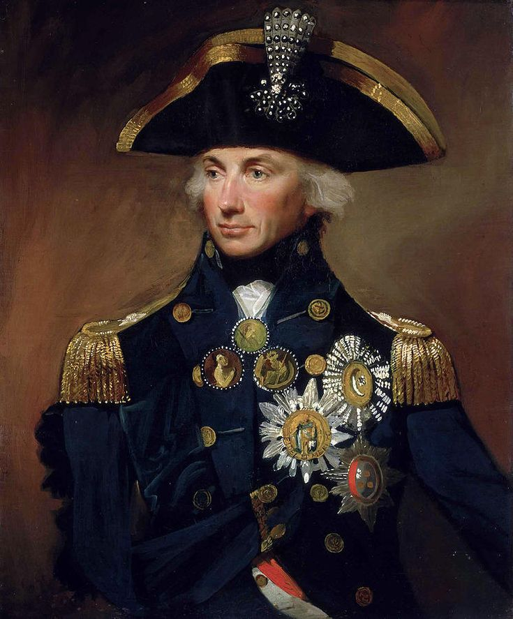 Vice Admiral Horatio Nelson Painting - Vice Admiral Horatio Nelson by Lemuel Abbott