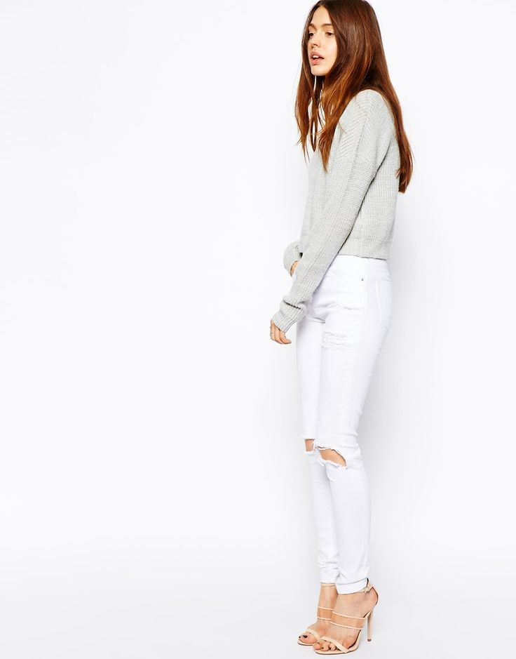 Awesome White Jeans for Women : White Jean For Women 3