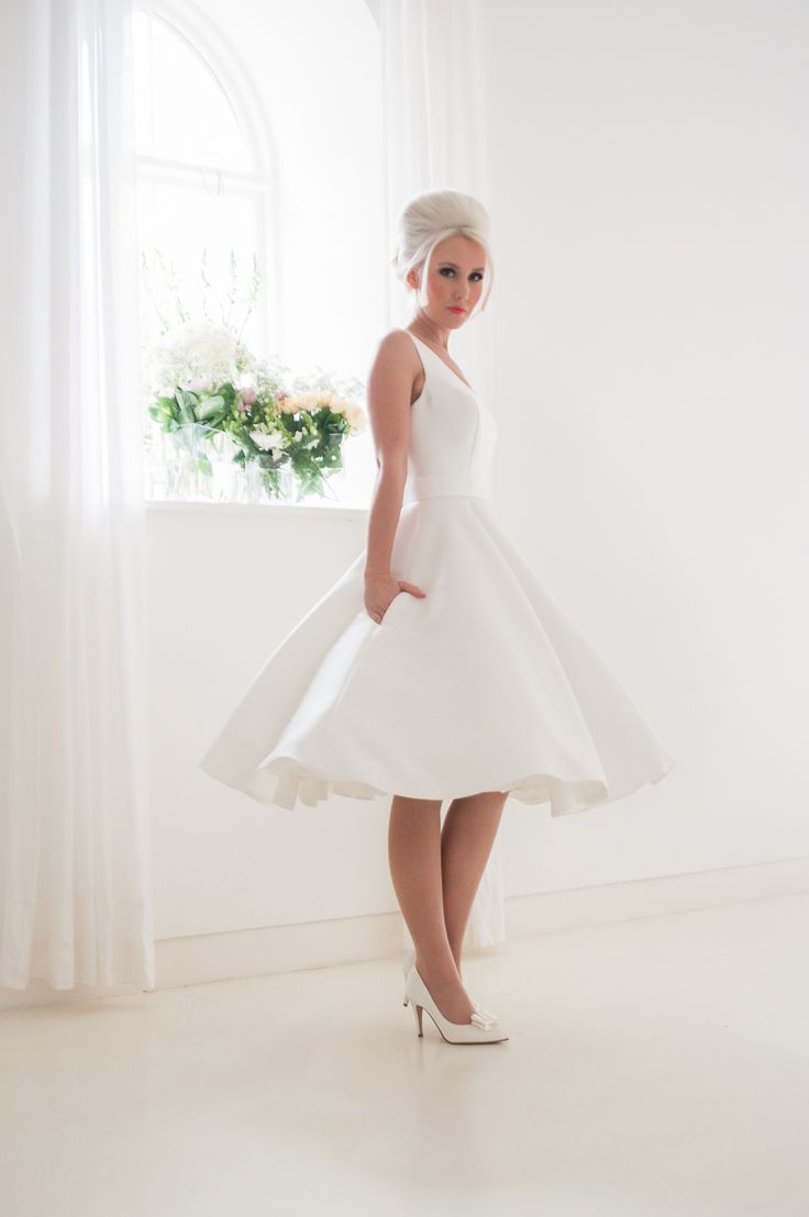 319 best Mini wedding dress images on Pinterest | Wedding frocks ...