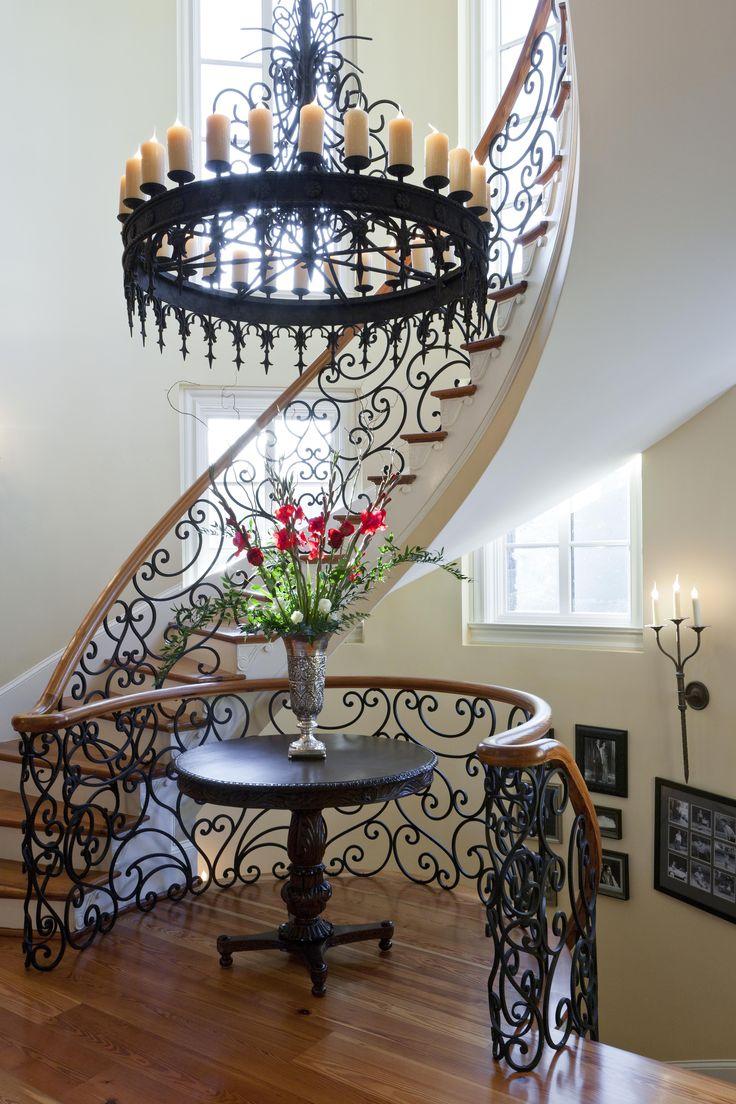Best 25 wrought iron chandeliers ideas on pinterest wrought iron light fixtures tuscany - Wrought iron indoor decor classy elegance ...
