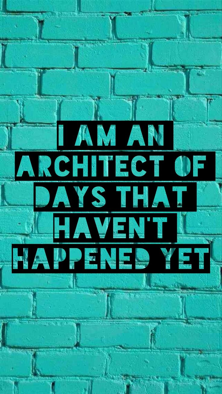 I am an architect of days that haven't happened yet. -johnmayer #convivial #quotes