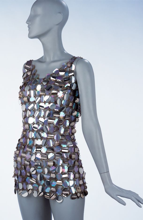 Paco Rabanne Dresses | Dress, Paco Rabanne, 1967 | V