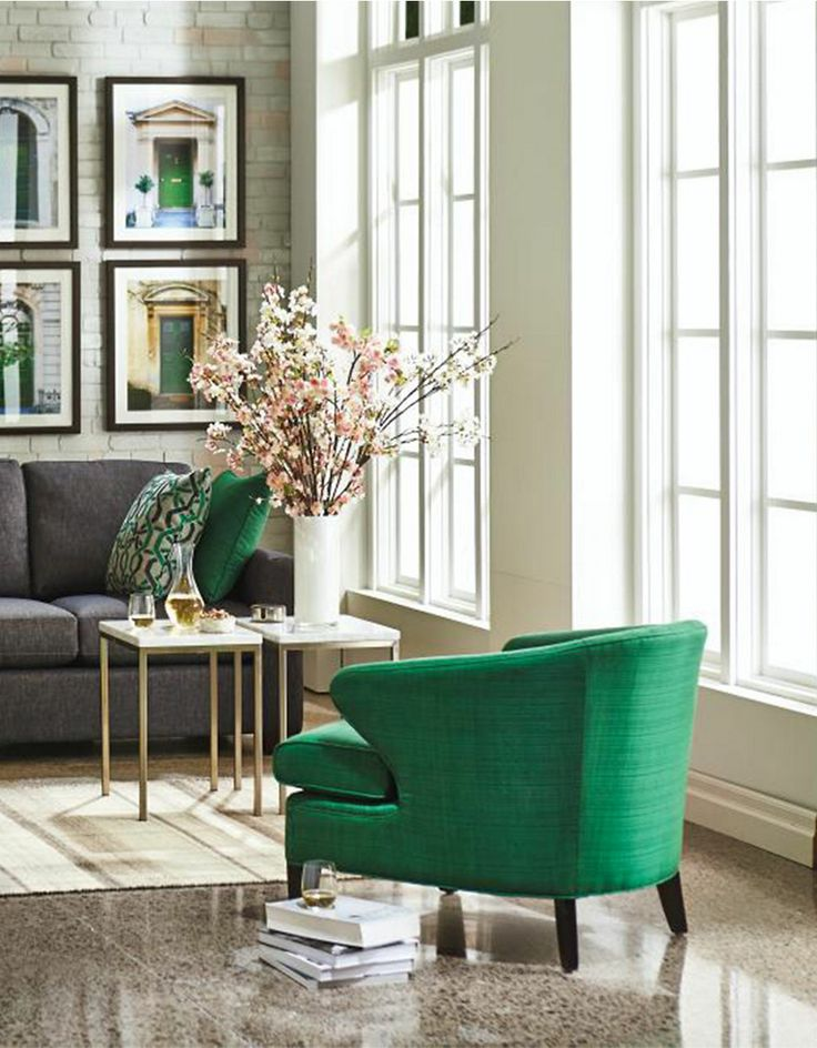 green living room chair felix accent chair hudson s bay home 14864