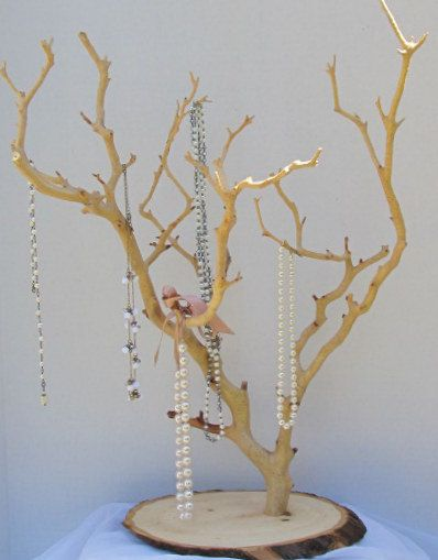 """20-24"""" Long Necklace Manzanita Jewelry Tree Stand FREE SHIPPING SPECIAL"""