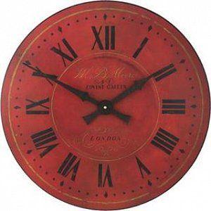 Velké červené hodiny - Moore