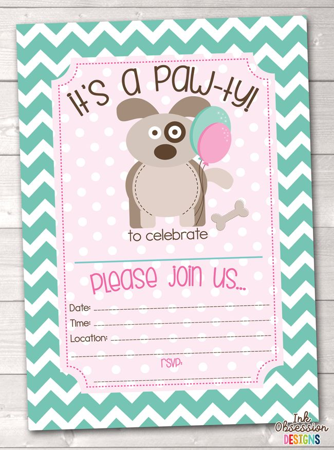 37 best Birthday Party Invitations images on Pinterest | Birthday ...