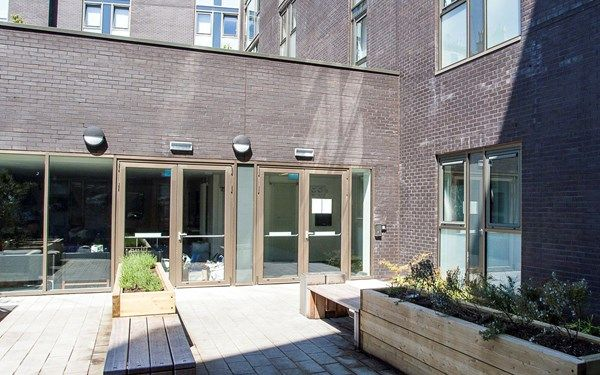 External court yard available to all students, ideal for studying during the summer months or socialising