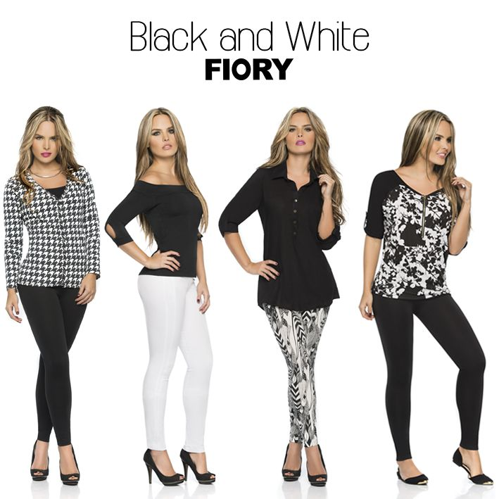 FIORY black and white... escoge tu look favorito!! #FioryColombia #Fioryblackandwhite  #blackandwhite