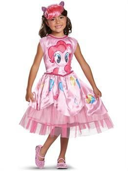 PartyBell.com - Pinkie Pie Movie Classic Child Costume