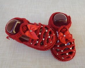 Сандалии плетеные