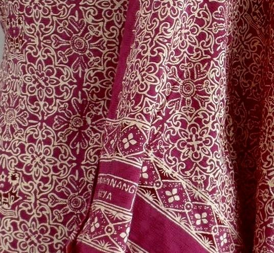 padangsche bovenlanden: RANAH MINANG : Batik Tanah Liek, Batiknya Orang Minang #minang #heritage
