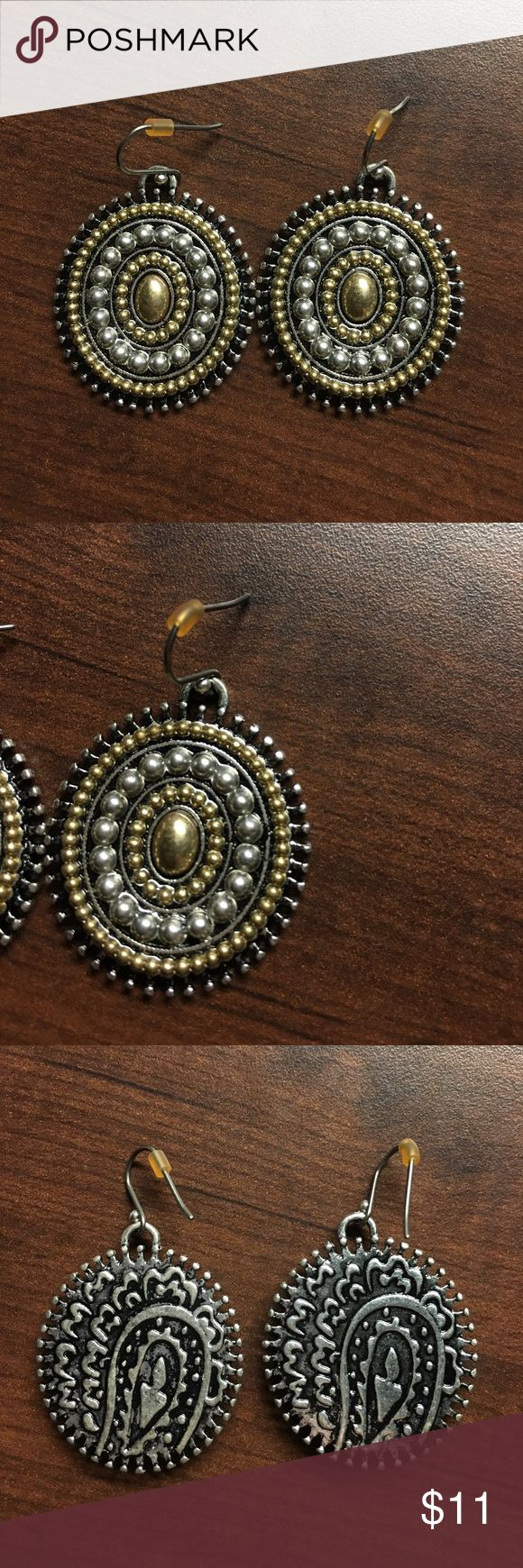 Ruff Hewn earrings Great shape! Cleaned with antibacterial and well taken care of. Ruff Hewn Jewelry Earrings