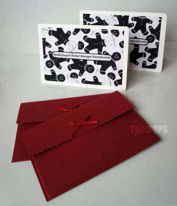 Cookie Xmas Card / Ciasteczkowa kartka świąteczna