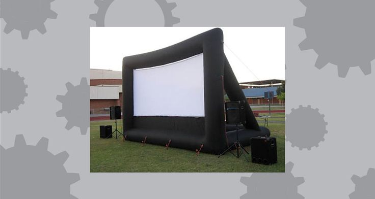Inflatable Movie Screen Rental - Movie in the Park - Rent a Screen in Phoenix, AZ