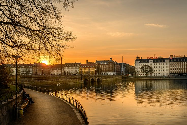 Nørrebro sunset by Firas Fadaam on 500px