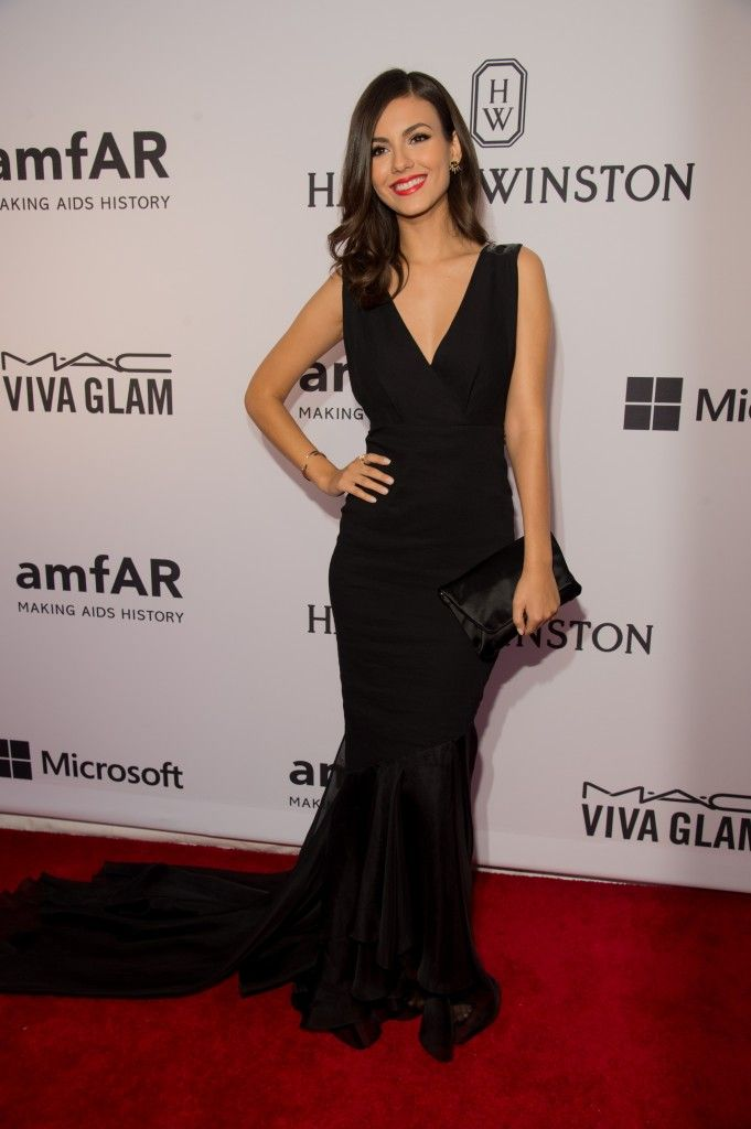 Victoria Justice gala amfar new York juin  2015