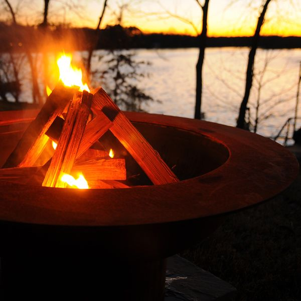 Outdoor Fire Pits | WoodlandDirect.com - 24 Best Rust Patina Fire Pits Images On Pinterest Fire Places