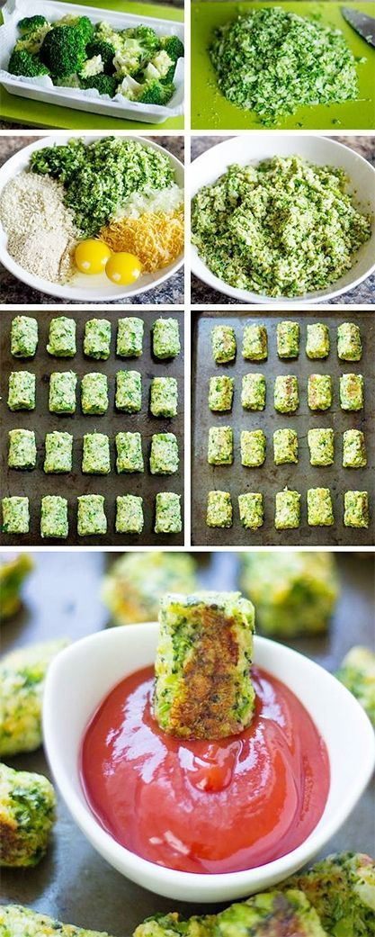 Dietní brokolicové pečené karbanátky - DIETA.CZ