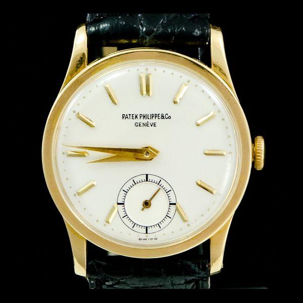 Patek Philippe-Calatrava or jaune 18k, manuel. Disponible immédiatement sur notre site: http://www.joaillerie-royale.com/114-montres-vintage