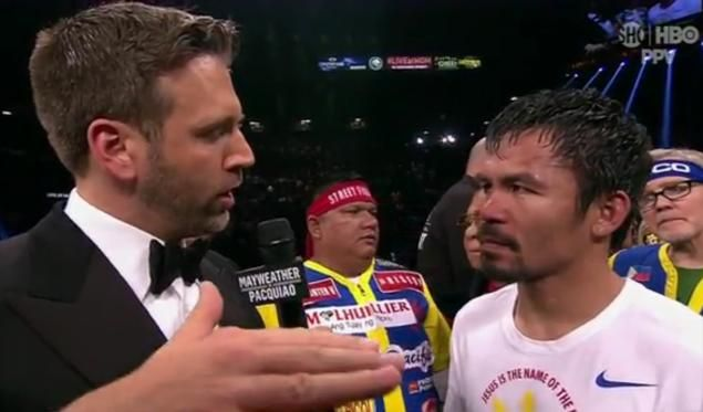 Max Kellerman's line of questioning to Manny Pacquiao wasn't out of line, but PacMan's fans are still up in arms about it.