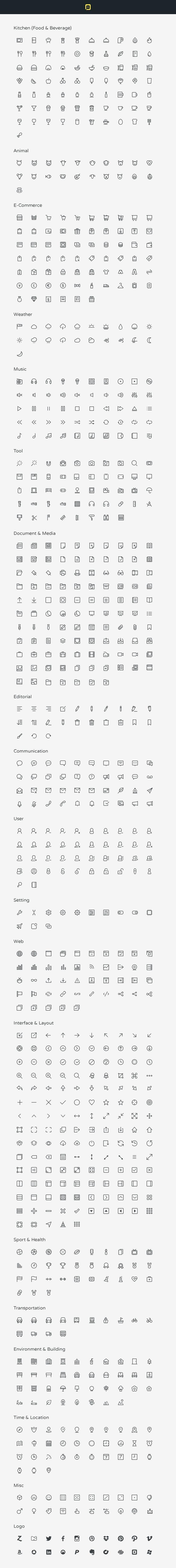 Me gustan los simbolos de escribir