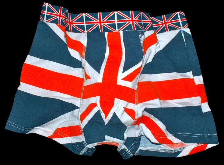 Union Jack boxer