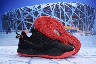 2ad89ebaf8e Nike LeBron Witness III Black University Red Black AO4433-006 Men s Sneaker Basketball  Shoes