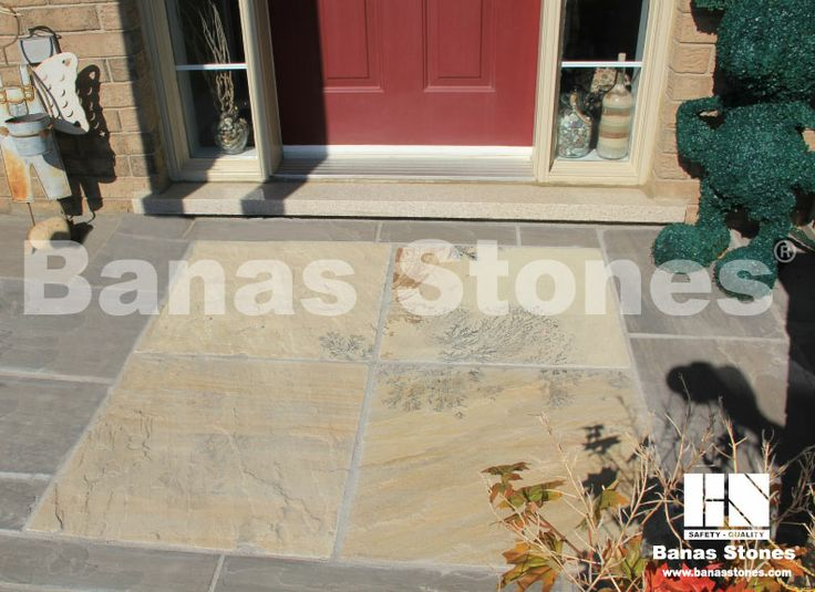 Banas Fossil Square Cut Pavers available at Lanes Landscaping 3500 Mavis Rd, Mississauga, ON L5C 1T8