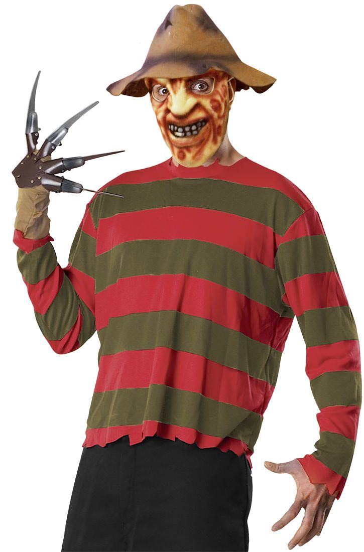 Scary Adult Freddy Costume Set