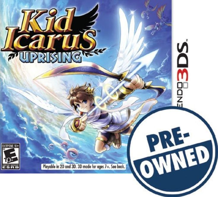 Kid Icarus: Uprising — PRE-Owned - Nintendo 3DS