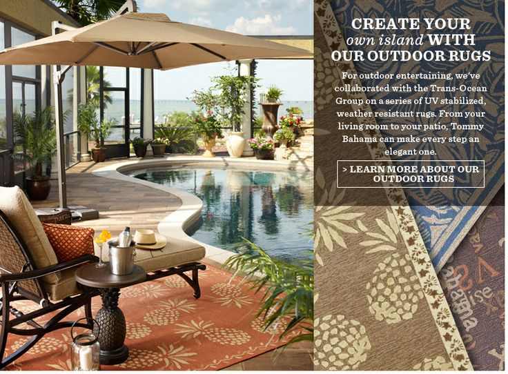 Outdoor Rugs Tommy Bahama Outdoor Rugs All Weather