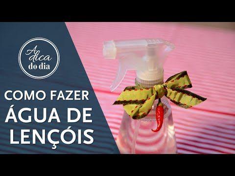 água de lençóis: como fazer   #aDicadoDia Flávia Ferrari Mais