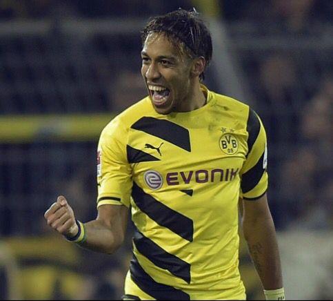 aubameyang  . Dortmund