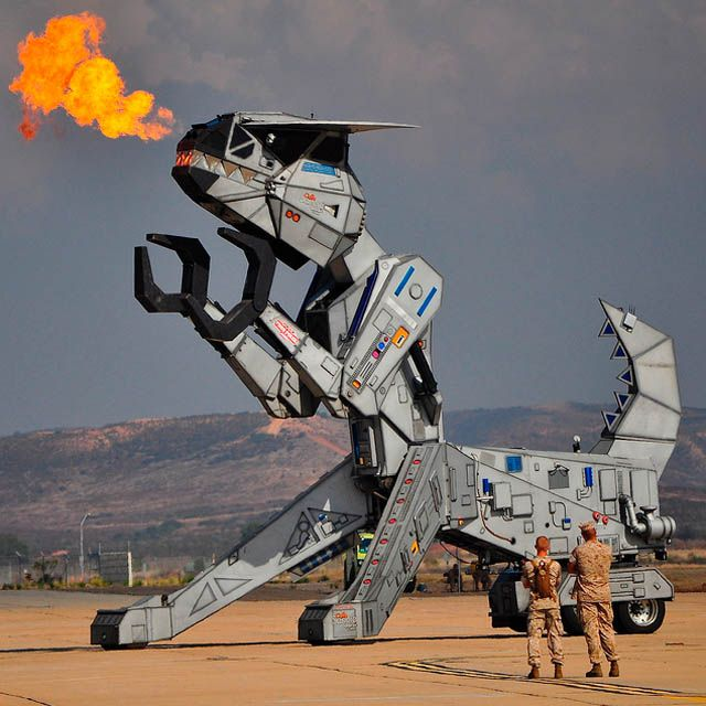 And finally, we have Robosaurus, the robot dinosaur, fond of eating cars and other vehicles for breakfast, lunch and dinner (seen in in Laughlin, Nevada):