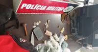 serido noticias: Policiais do 9º BPM desarticula boca de fumo e apr...
