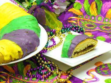 king, cake, recipes, mardi, gras, coffee, cake, receipts - © 2009 Peggy Trowbridge Filippone