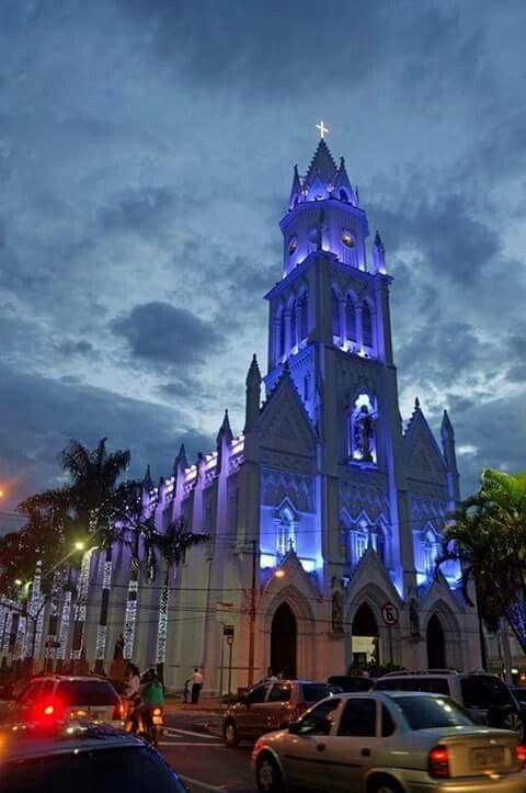 Catedral centro.  Jundiai São Paulo . Brasil