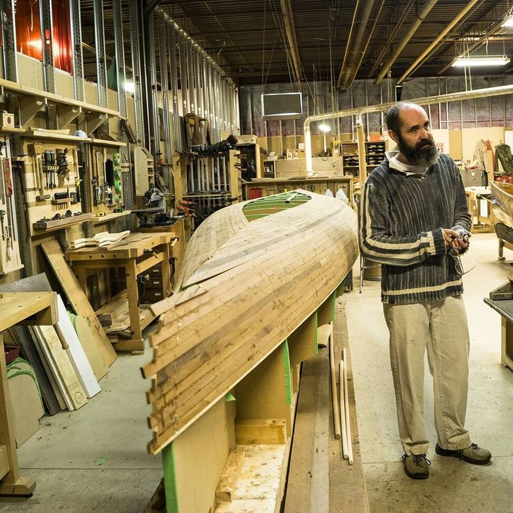 Trevor Paetkau, maker of Ashes Still Water Boats. #Factory163 #Stratford365