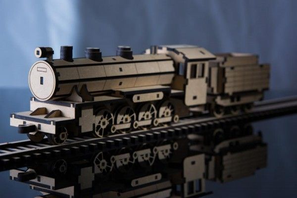 Classic Steam Train – Laser Cut Plans