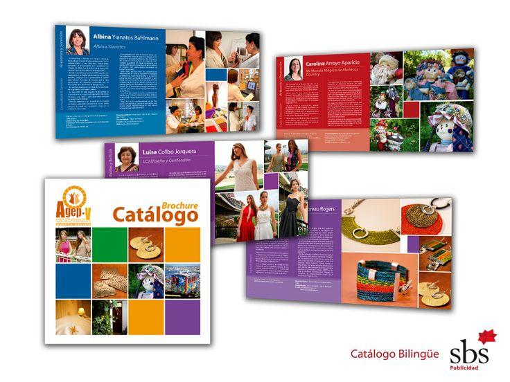 Catálogo Internacional, bilingüe. Gremio de Empresarias.