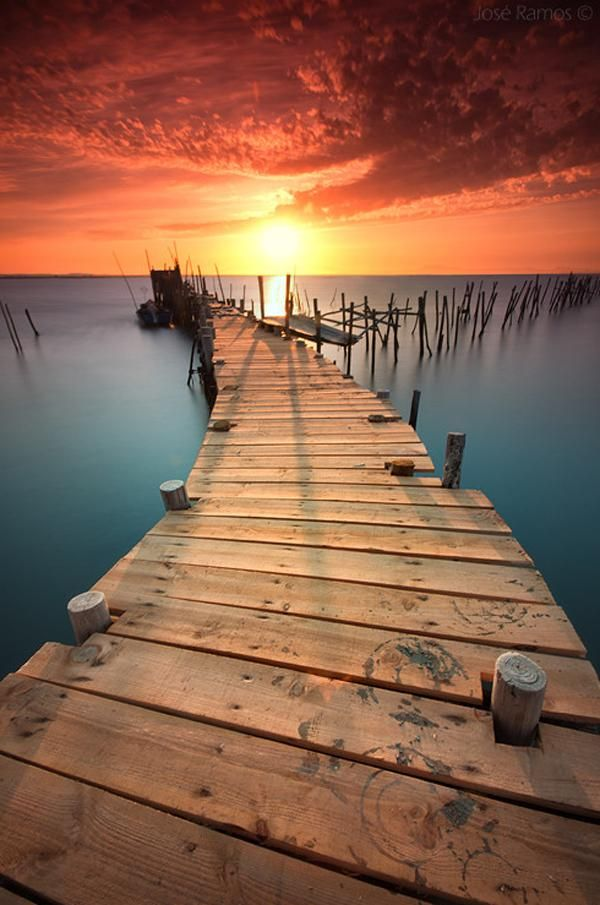 Landscape Photography by Jose Ramos - Colors take my breath away.  This is an amazing photo.  #clickaway #nature #sunsets