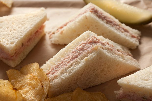 Homemade Deviled Ham  -------------  makes a great sandwich or appetizer with crackers from leftover holiday ham.