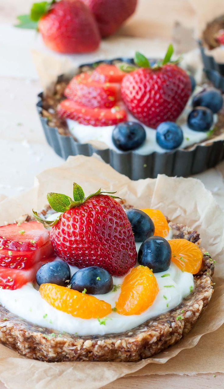 ... Fruit and Yogurt Tarts   Recipe   Coconut, Summer and Tart recipes