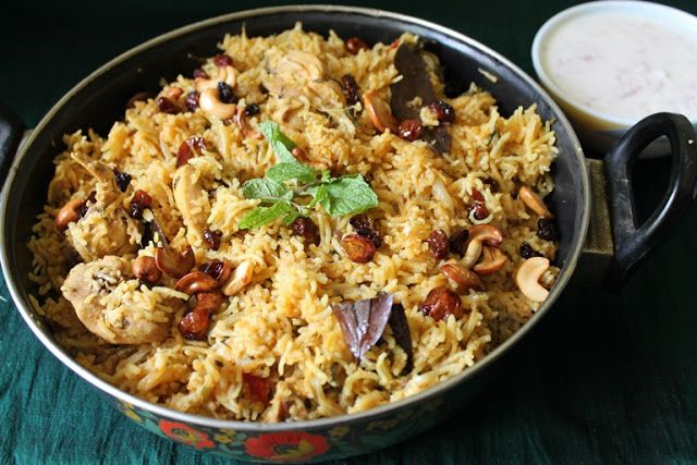YUMMY TUMMY: Pressure Cooker Chicken Biryani / One Pot Biryani - Ramzan Special Recipes